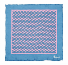 Latin America Pocket Square - Pink & Blue - Reddendi