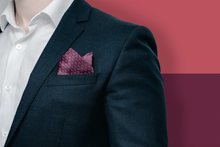 Middle East Pocket Square - Maroon - Reddendi