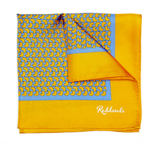 Africa Pocket Square - Amber - Reddendi