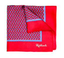 Africa Pocket Square - Deep Magenta - Reddendi