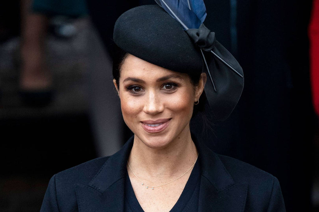 A dip into a royal jewellery box: get Meghan Markle's look
