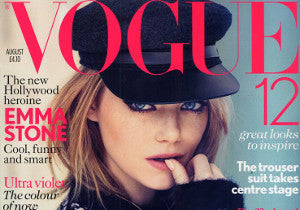 H.AZEEM's Black Algate Ring in August issue of Vogue - Olympics Special Edition