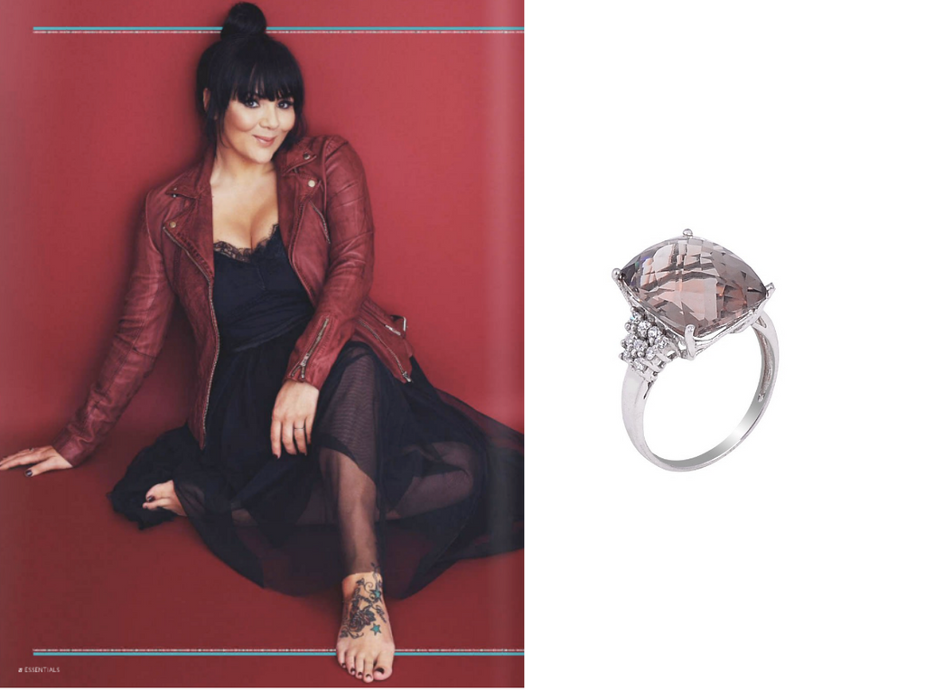 Martine McCutcheon Wears H.AZEEM