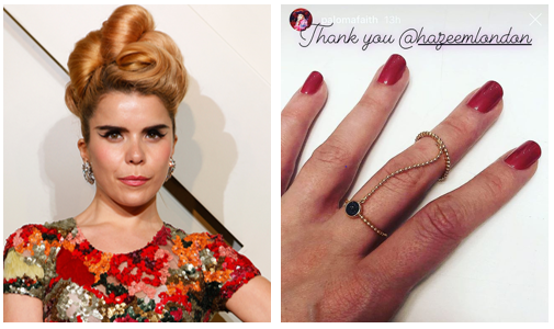 Paloma Faith Wears H.AZEEM