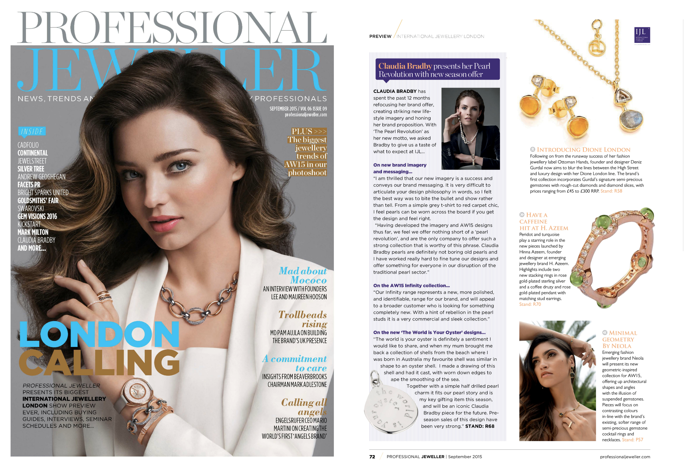 Professional Jeweller - September 2015