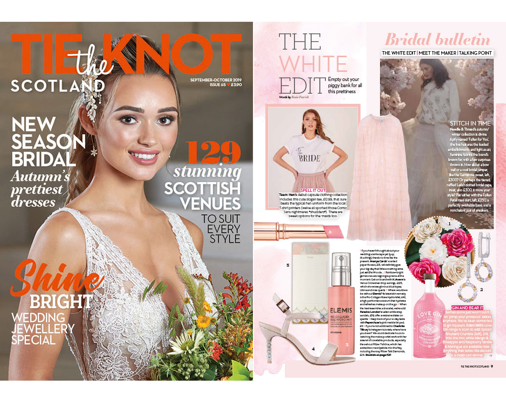Tie the Knot Scotland magazine-September-October 2019