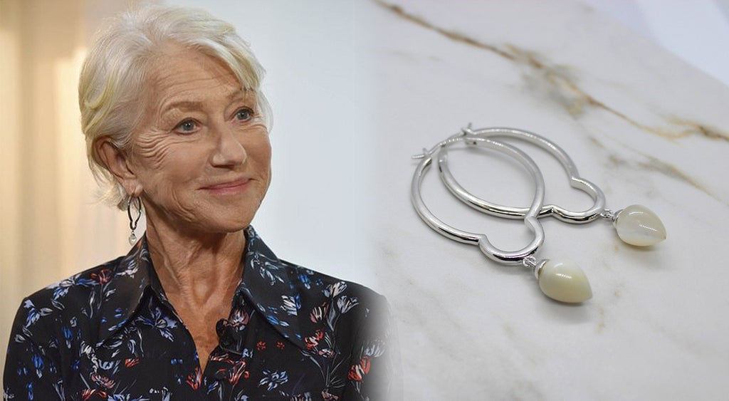 Honouring the versatility of women across time – Helen Mirren wears H.AZEEM London