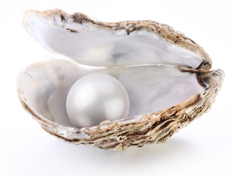 June's birthstone is ... Mother of Pearl