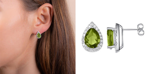 Luscious Peridot Earrings