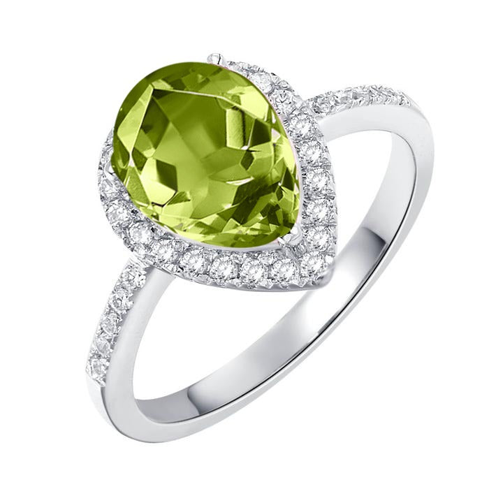 Luscious Peridot Ring - H.AZEEM London