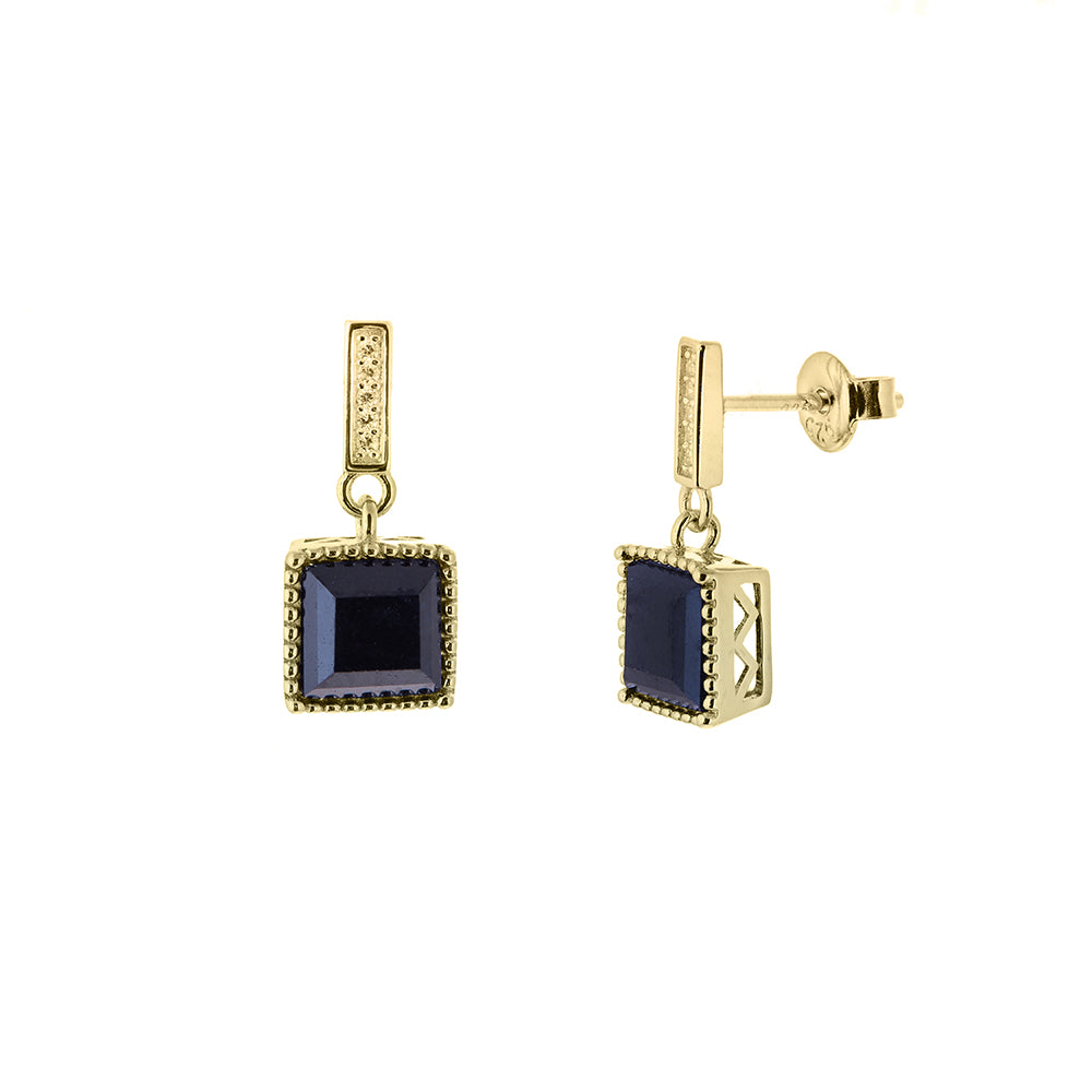 Admiral Gold Earrings - H.AZEEM London