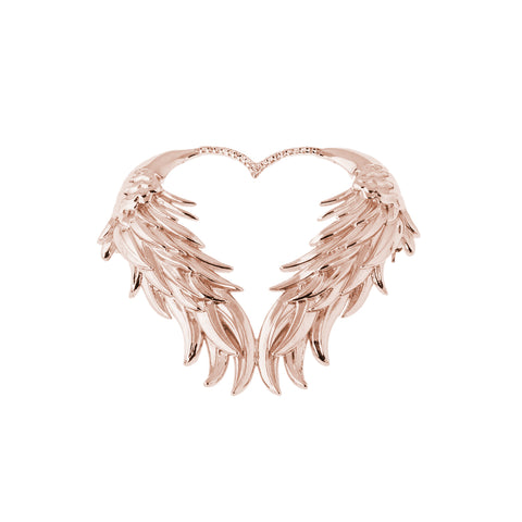Luckenbooth Rose Gold Brooch