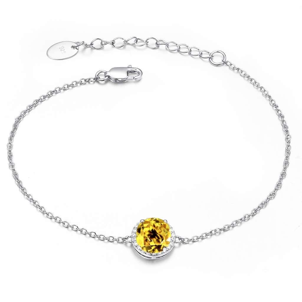 Royal Citrine Bracelet - H.AZEEM London