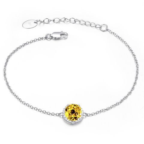 Royal Citrine Bracelet