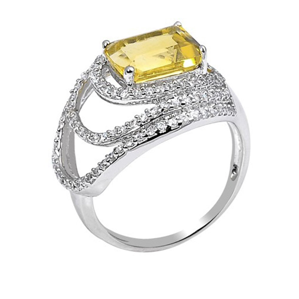 Stunning Citrine Ring - H.AZEEM London