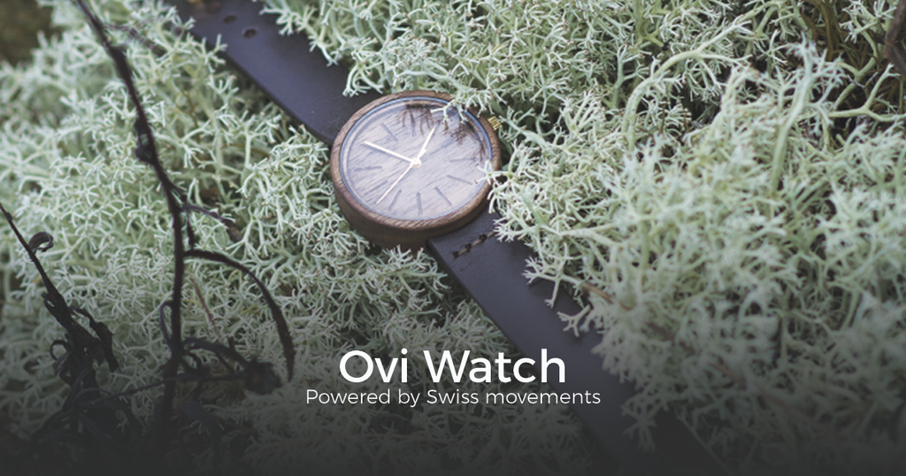 Ovi Watch is presenting their brand new women's wooden watches
