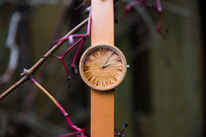 Wooden Watches add a dash of smartness to a dull evening dress