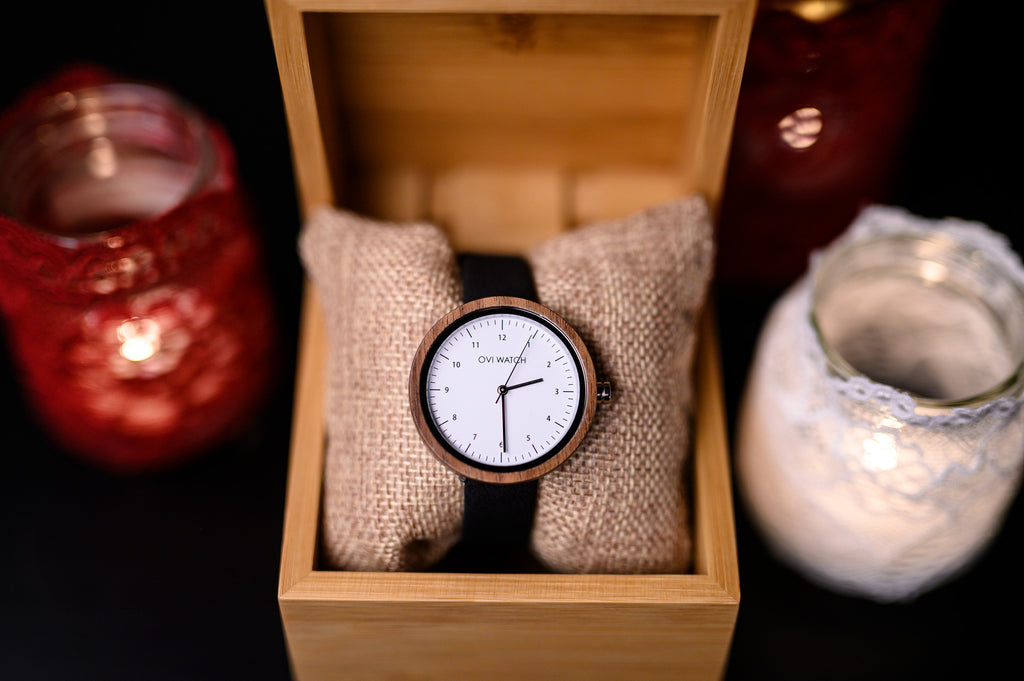 10 Wooden Watches as a Christmas Gift