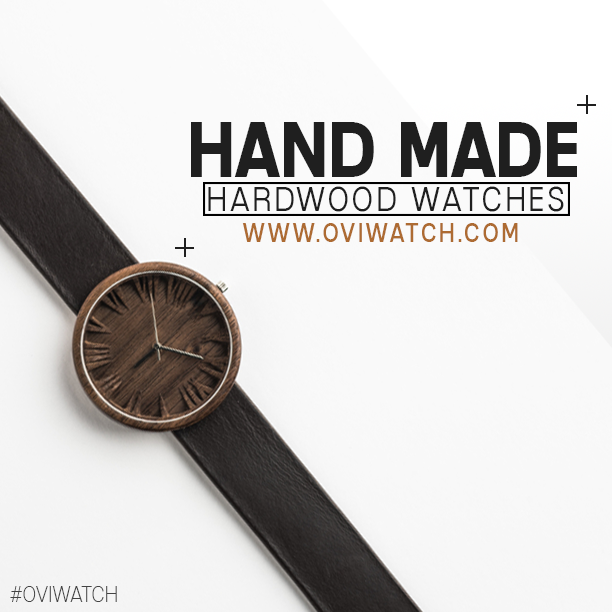 Creation of the Ovi Wooden Watches