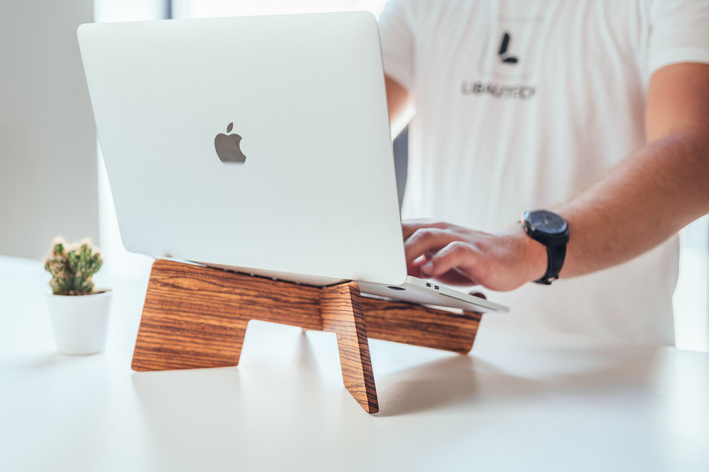 Meet Our New Product - Wooden Laptop Stands