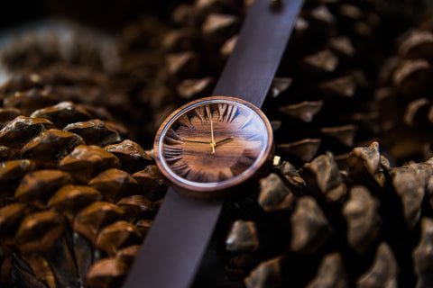 Wooden Watch Prunus