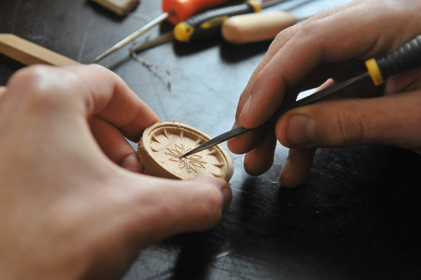 Handcrafting Wood Wrist Watch