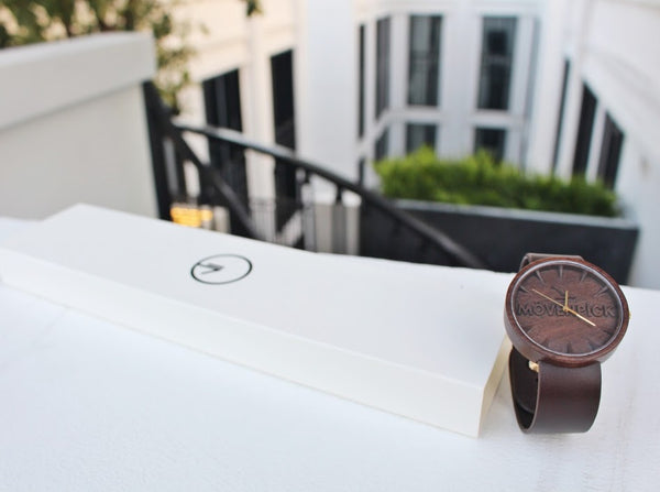 Movenpick wooden watch