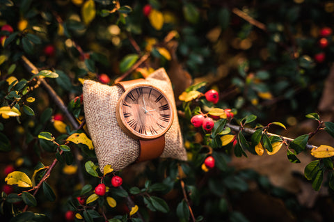 Ovi Wooden Watch Glamurus