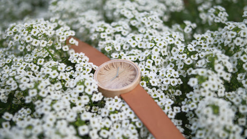 Wooden Watch Herus