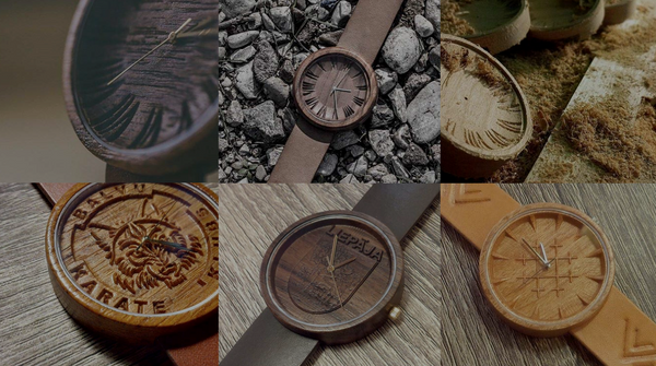 Personilize wooden watches