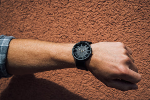 Black Wooden Watch on Amazon.com