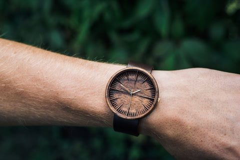 Men's Ovi Wooden Watch Cursus