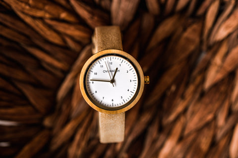 Cruelty-Free Ovi Wooden Watch Vigoureux