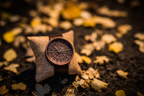 Ovi Wooden Watch Zelus With Gift Box