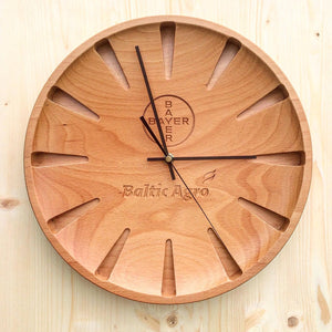 Personalised Wooden Wall Clock - Ovi Watch