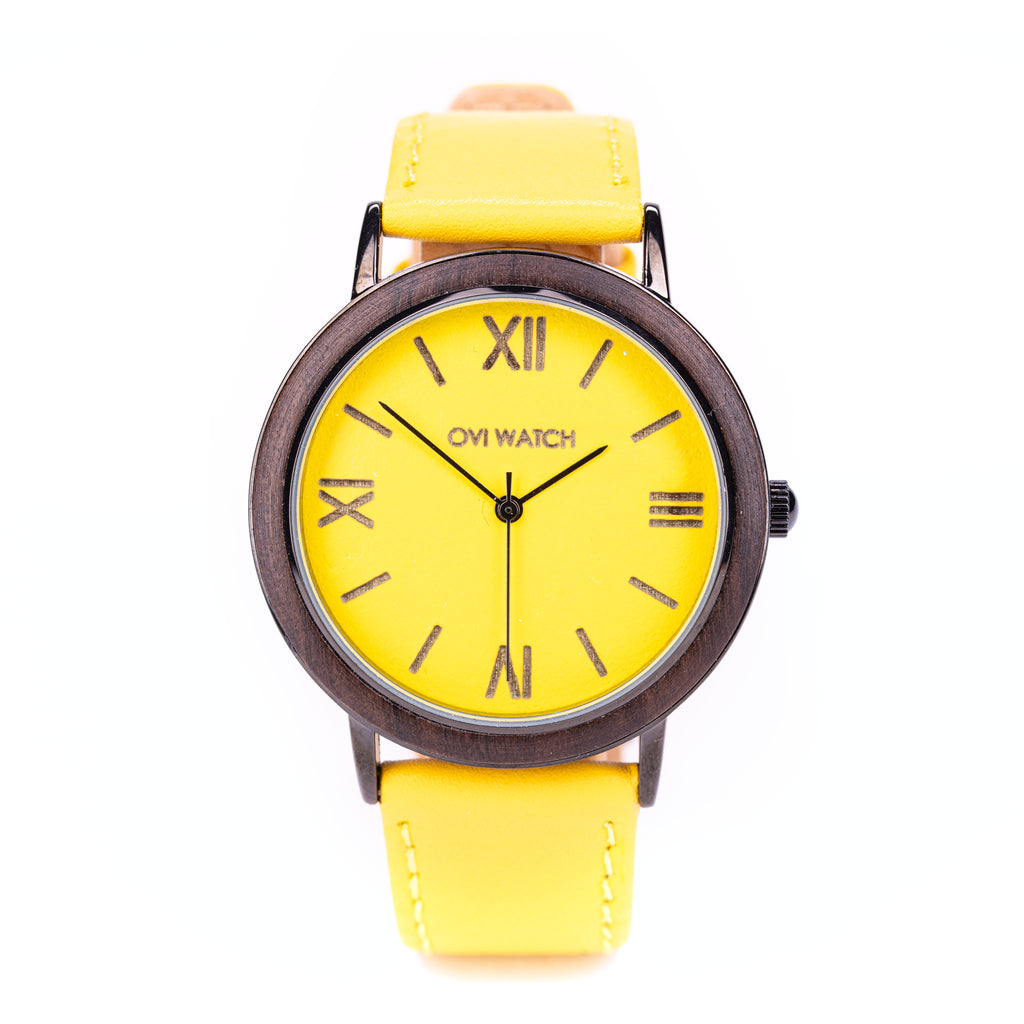 Flavus - Yellow Wrist Watch