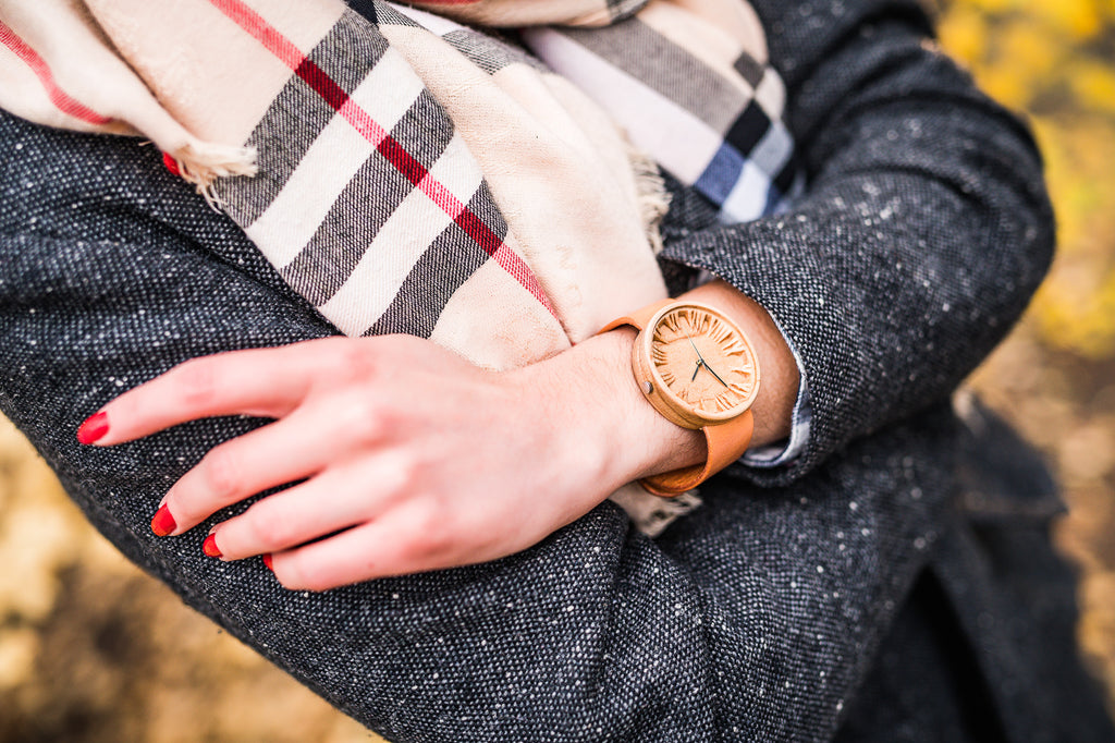 Herus - Handmade Maple Wooden Watch for Women