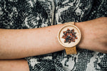 Red Magnolia - Ovi Watch