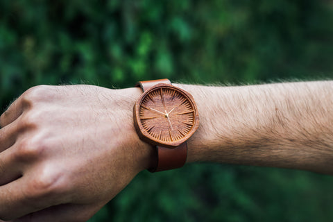 Mens Wooden Watch