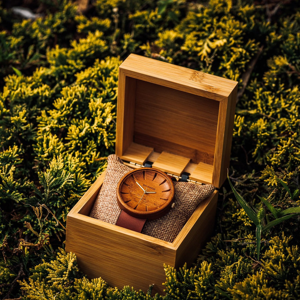 Grandis - Teak Wooden Watch for Men
