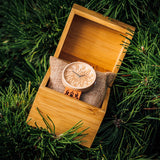 Fortuna - Engraved Maple Wood Watch