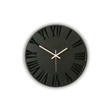 Dark Wooden Wall Clock
