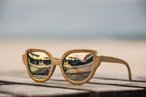 Bamboo Women Wooden Sunglasses