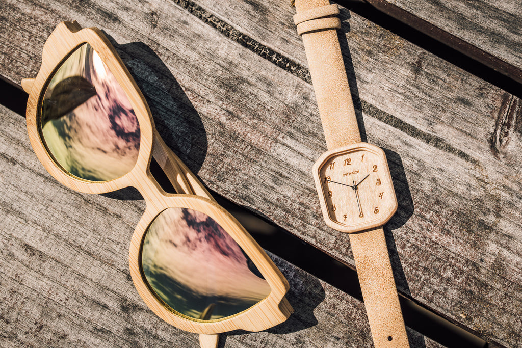 Awe - Bamboo Wooden Watch