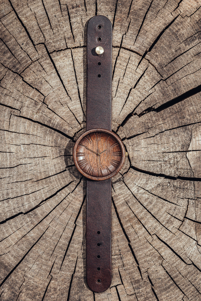 Excelsa - Natural American Walnut Wood Watch for Men