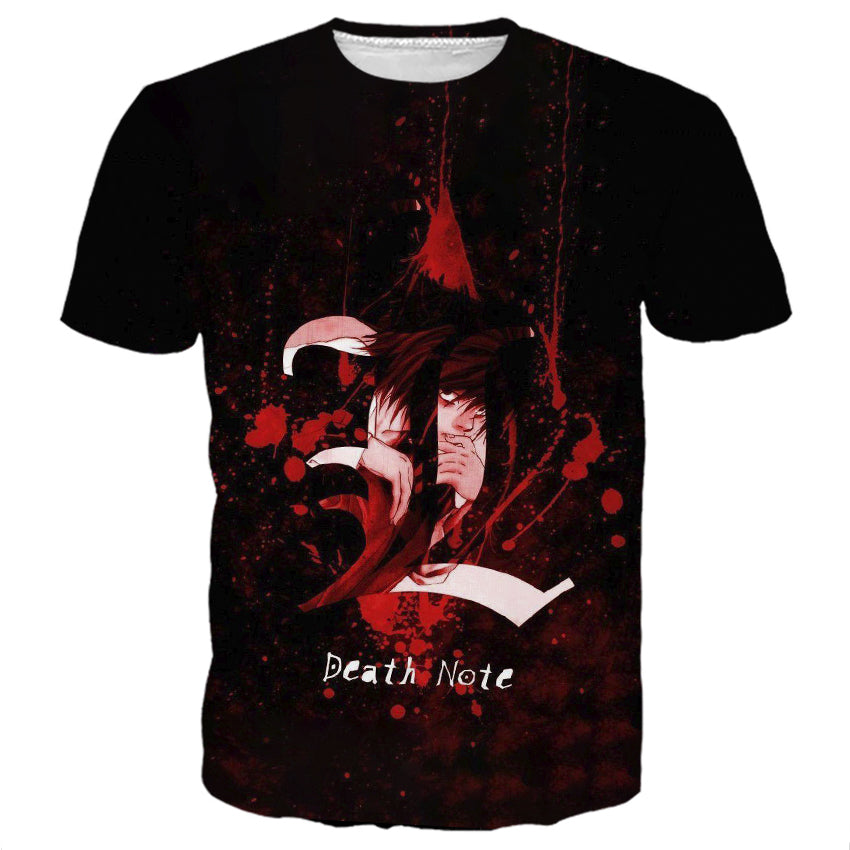 Death Note Blood Symbol Shirts Aio Store