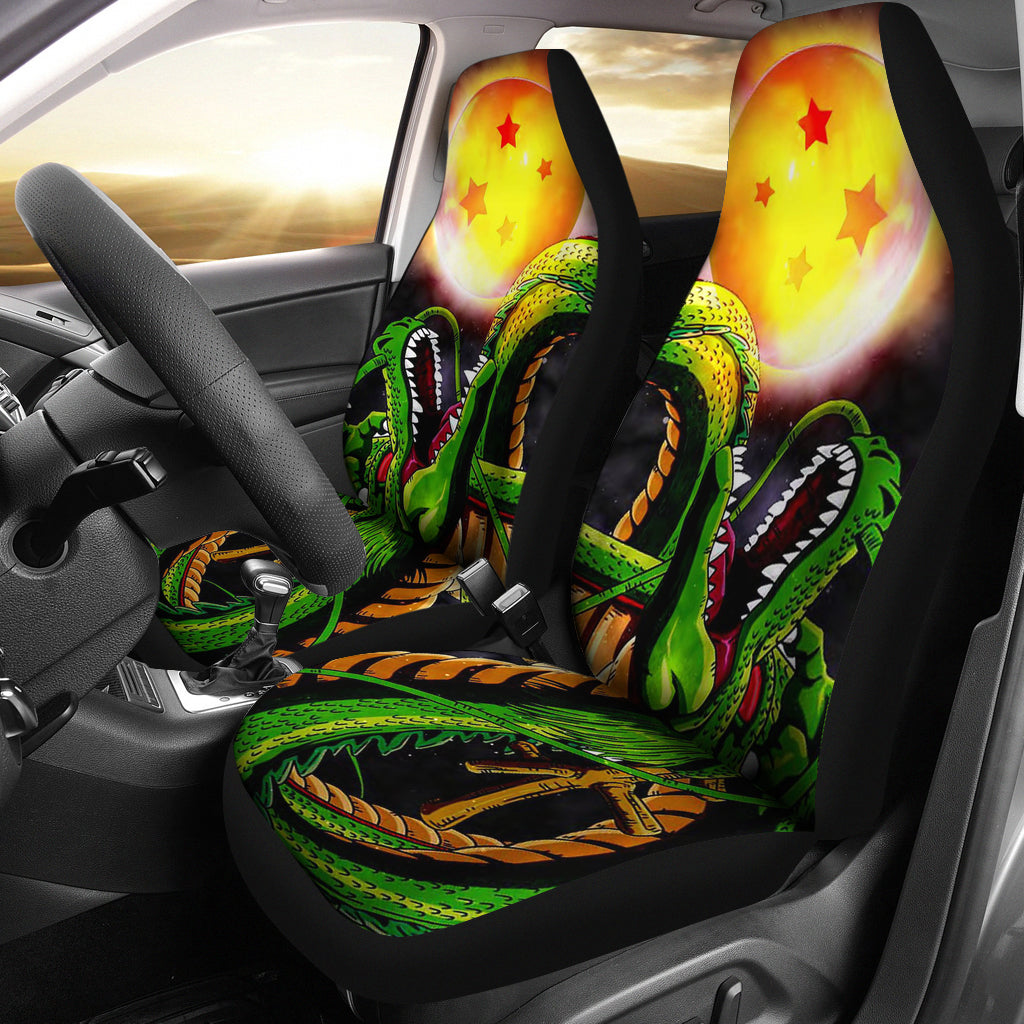 Dragon With Ball Car Seat Covers