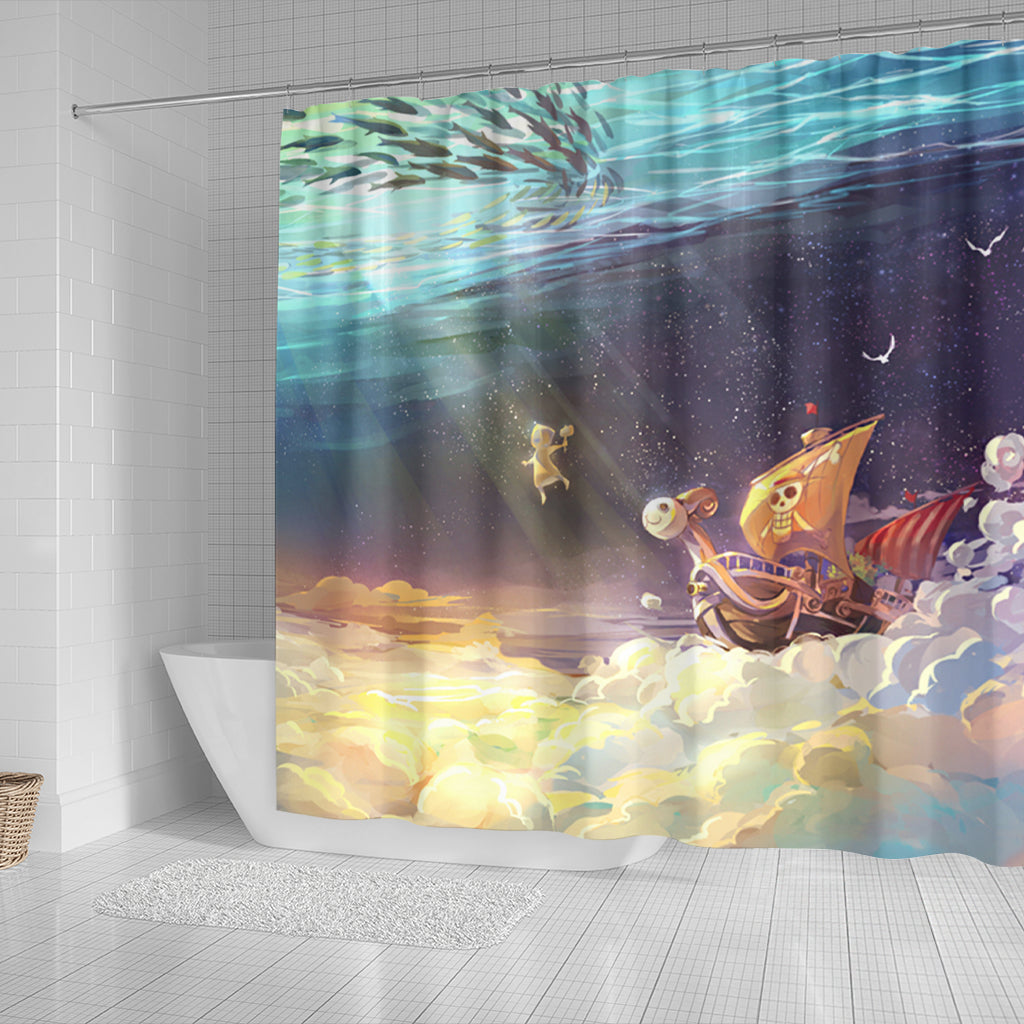 Vogue Merry Under Water Shower Curtain