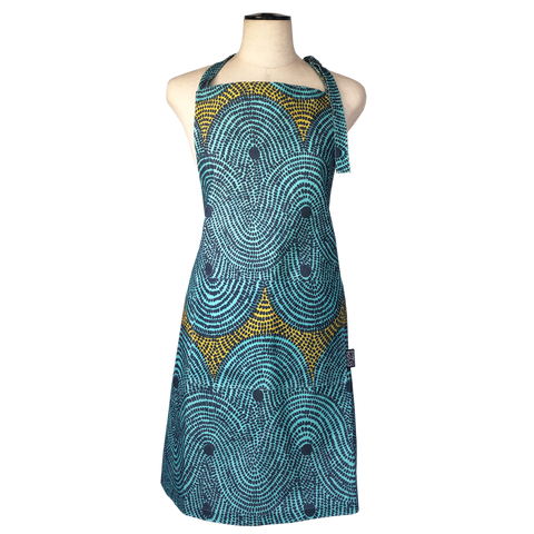 Crop Field apron</br> Aqua