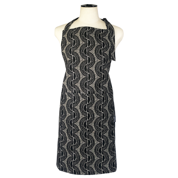 Peppercorn apron</br> Black